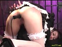 美少女を性奴隷にして膣も肛門もたっぷりと開発する調教プレイ