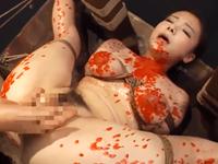 美少女を完全拘束してSM拷問!浣腸や蝋燭責めで凌辱してからキメセクでアへ顔連発
