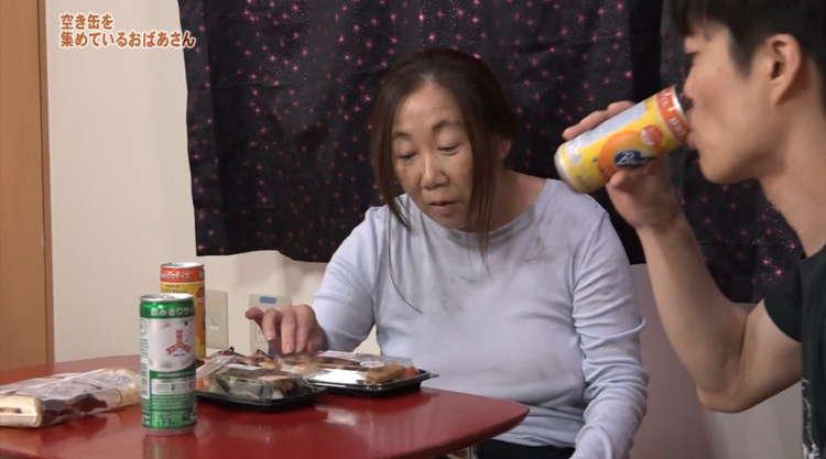 ホームレス寸前のおばあさんとセックス1