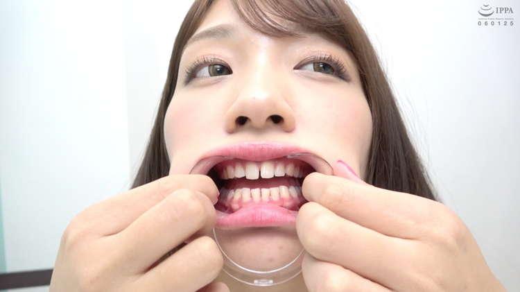 美少女の口内3