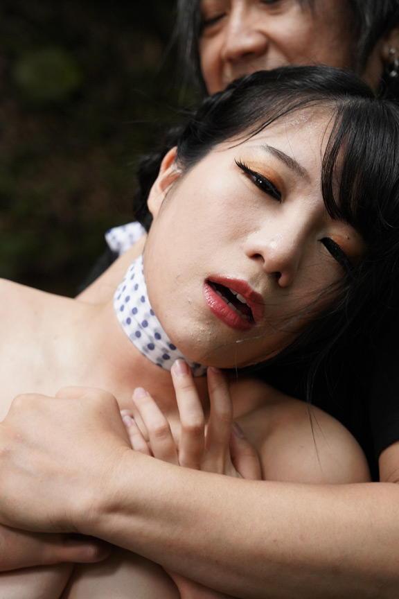 美女の野外露出SM…7